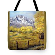 Bishop In The Fall Tote Bag
