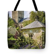 Bishops Palace Gardens - Wells England Tote Bag