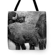 Bison - Way Out West Tote Bag