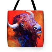 Bison Attitude Tote Bag