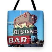 Miles City Montana - Bison Bar Tote Bag