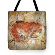 Bison From The Altamira Caves Tote Bag