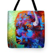 Bison Head II Tote Bag