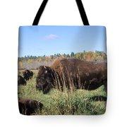 Bison Home On The Range Tote Bag