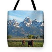 Bison Range Tote Bag