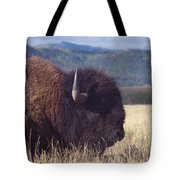 Bison Strength Tote Bag