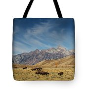 Bison The National Mammal Tote Bag