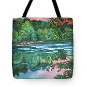 Bisset Park Rapids Tote Bag