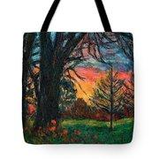 Bisset Park Sunrise Tote Bag