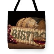 Bistro Still Life II Tote Bag by Tom Mc Nemar