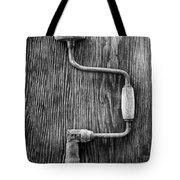 Bit Brace R Bw Tote Bag
