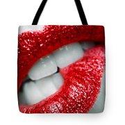 Bit Lip Tote Bag