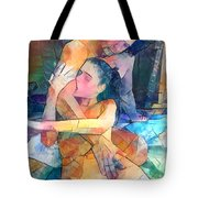 Bite Marks Are Love Notes Written In Flesh. Tote Bag