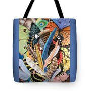 Bits Of Flight Tote Bag