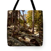 Blach Hills Terrain Tote Bag