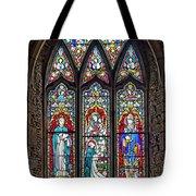 Black Abbey Window - Kilkenny - Ireland Tote Bag