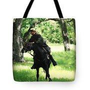 Black Amongst The Green Tote Bag