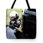 Black And Chrome Tote Bag