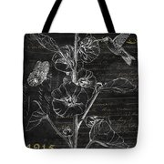Black And Gold Hummingbirds 1 Tote Bag