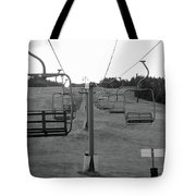 Black And Lift Tote Bag