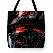 Black And Red Harley 5966 H_2 Tote Bag