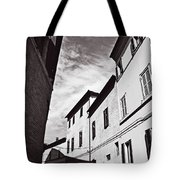 Black And View Italy Tote Bag