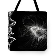 Black And White - 2 - Negative Tote Bag