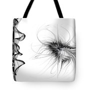 Black And White - 2 Tote Bag
