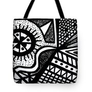 Black And White 14 Tote Bag