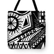 Black And White 15 Tote Bag