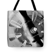 Black And White Abstract 1 Tote Bag