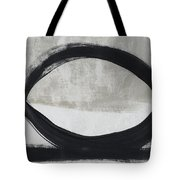 Black And White Abstract 2- Art By Linda Woods Tote Bag