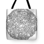 Black And White Abstract Background Tote Bag