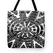 Black And White Abstracts Tote Bag