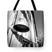 Black And White Barn Fixture Tote Bag