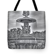 Bedesta Statue Black And White  Tote Bag