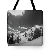 Black And White Brighton Tote Bag