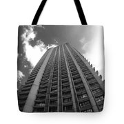 Black And White Brutalist Barbican Tote Bag