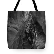 Black And White Buckskin Gulch Tote Bag
