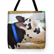 Black And White Cow 2 Tote Bag