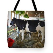 Black And White Cow Tote Bag