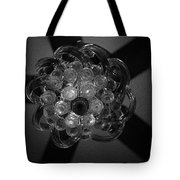 Black And White Crystal Tote Bag