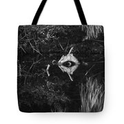 Black And White Cyclops Tote Bag