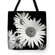 Black And White Daisy 3 Tote Bag