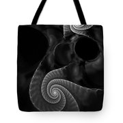 Black And White Fractal 080810 Tote Bag