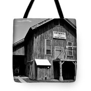 Black And White Gin Tote Bag
