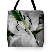 Black And White Life Tote Bag