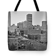Black And White Okc  Tote Bag