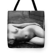 Black And White Photo Of Female Erotic Nude Tote Bag