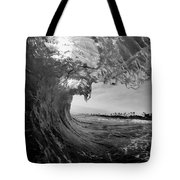 Black And White Room Tote Bag